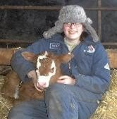 What teenaged girl wouldn't want to grow up on a farm looking this glamorous?